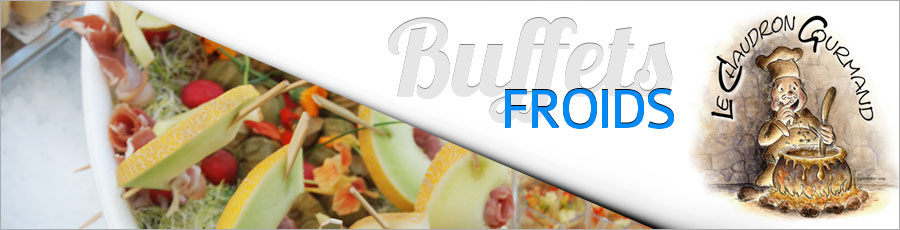 buffet froid gourmandise
